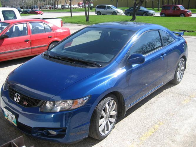 2009 honda civic si coupe for sale in winnipeg manitoba all cars in. Black Bedroom Furniture Sets. Home Design Ideas