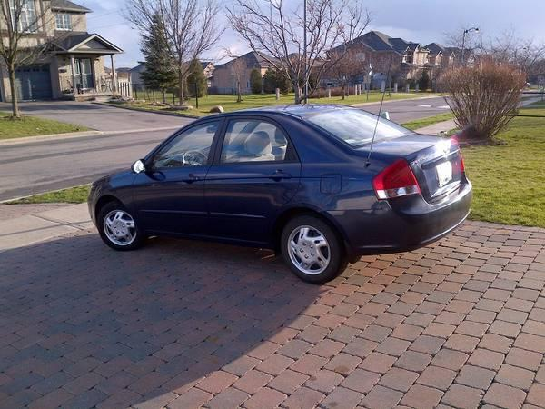 2009 KIA Spectra LX - No Accident - 74,000 Kms Only - Must Sell ! - $6700