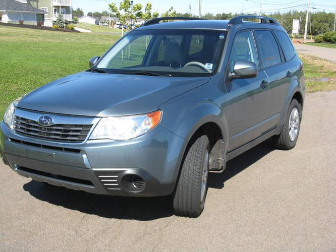 2009 subaru forester 2 5 x suv for sale in charlottetown prince edward island all cars in. Black Bedroom Furniture Sets. Home Design Ideas