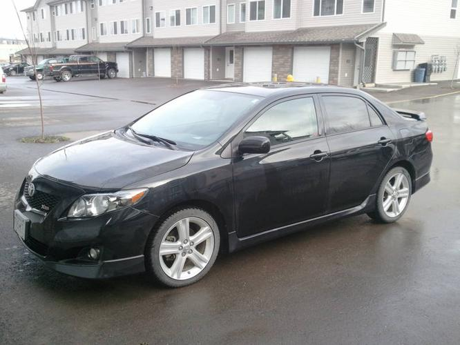 2009 toyota corolla xrs new lowered price priced to. Black Bedroom Furniture Sets. Home Design Ideas