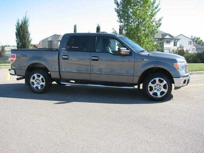 2010 ford f 150 xtr 4x4 crew cab truck for sale in chestermere alberta all cars in. Black Bedroom Furniture Sets. Home Design Ideas