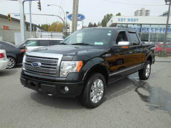 2010 FORD TRUCK F150 PLATINUM 4X4 CREW 5.5FT - $36988