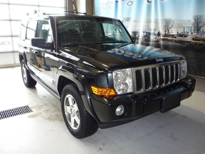 2010 jeep commander 3 7 sport 4wd auto for sale in edmonton alberta all cars in. Black Bedroom Furniture Sets. Home Design Ideas