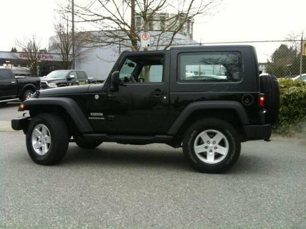 2010 jeep wrangler x hard top 6 speed trans only 51 300kms 17995 for sale in vancouver. Black Bedroom Furniture Sets. Home Design Ideas