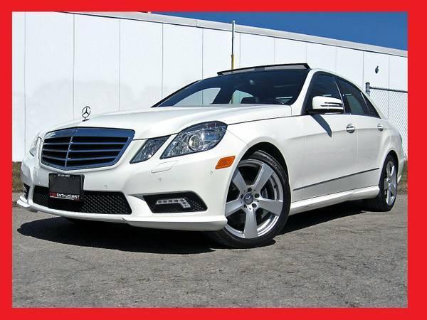 2010 Mercedes-Benz E-Class E350 AMG SPORT+NAVI+FACTORY WARR - $38799
