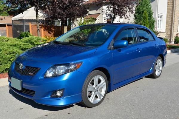2010 Toyota Corolla XRS - $13900