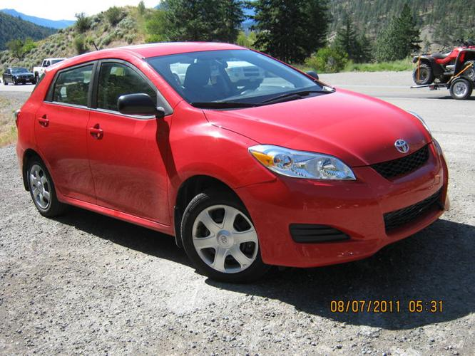 2010 toyota matrix hatchback for sale in calgary alberta all cars in. Black Bedroom Furniture Sets. Home Design Ideas