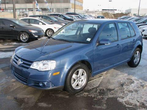 2010 Volkswagen Golf (City) - midnight blue for $19,000