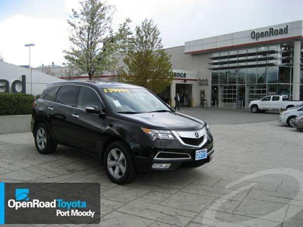 2011 ACURA MDX AWD 7 PASS - Open Road Toyota - $39995