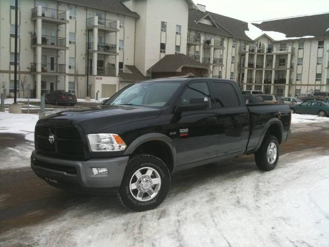 2011 dodge power ram 2500 slt outdoorsman pickup truck for sale in fort mcmurray alberta all. Black Bedroom Furniture Sets. Home Design Ideas