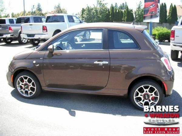 2012 Fiat 500 Sport * $0 Down No Payments for 90 days * Trades Welcome - $14900