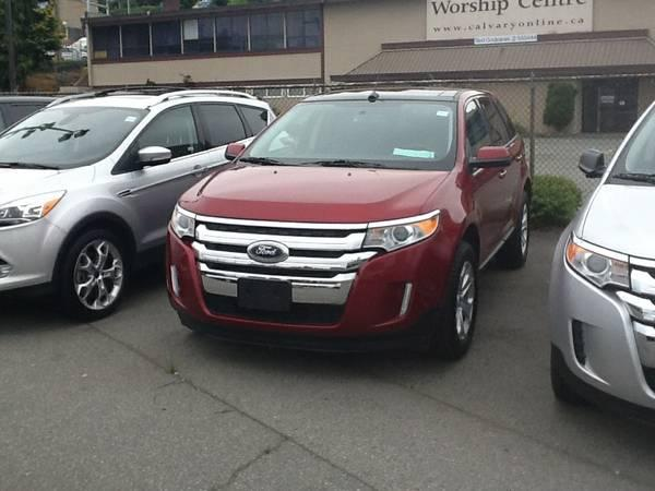 2013 FORD TRUCK EDGE SEL AWD - $32888