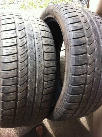 275/40 20 tires - $80