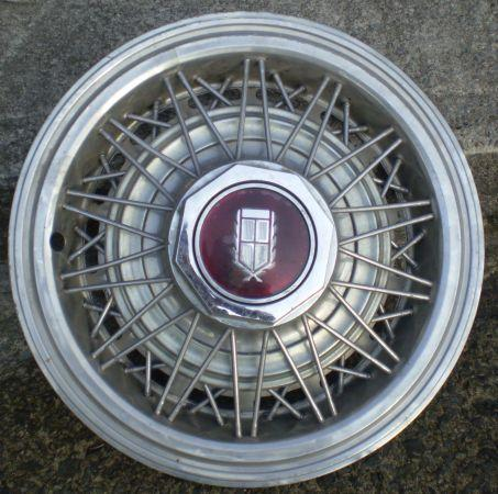 3 Grand Marquis Wire wheel covers AKA Hubcaps:) alsoMercury Cougar - $35