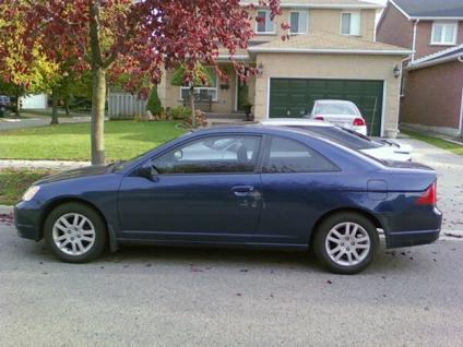 4 000 obo 2003 honda civic si coupe aniversary addition for sale in toronto ontario all. Black Bedroom Furniture Sets. Home Design Ideas