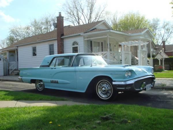 58 Ford Thunderbird Appraised for resale market value $19,800 - $19800