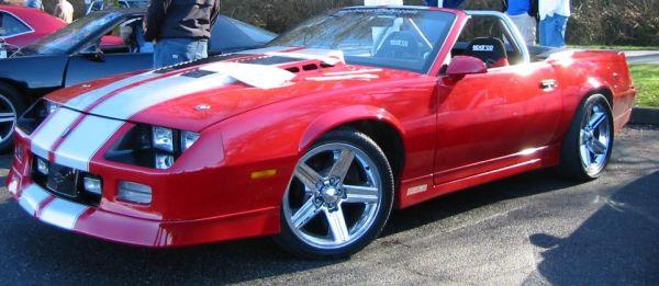 82 92 Camaro Iroc Z Daytona Turbo Hood Z28 Rs 500 For