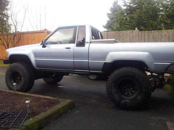 88 Toyota Pickup 4x4 7000 For Sale In Kelowna British