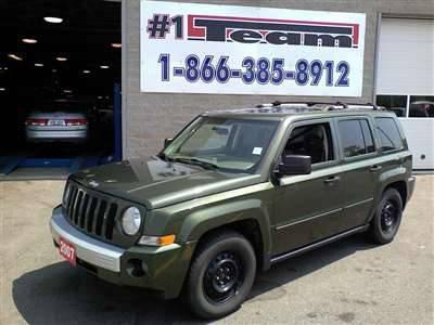 9 388 2007 jeep patriot for sale for sale in mississauga ontario all cars in. Black Bedroom Furniture Sets. Home Design Ideas