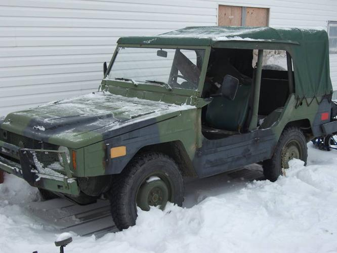 Army Surplus Canadian Military Iltis Jeep for sale in Radway, Alberta