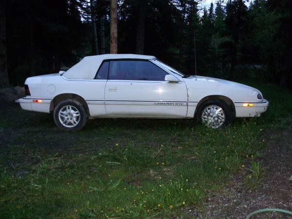 Chrysler Le Baron Convertible - CAD1000