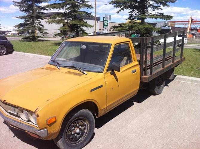 Datsun bullet side pickup truck mini truck