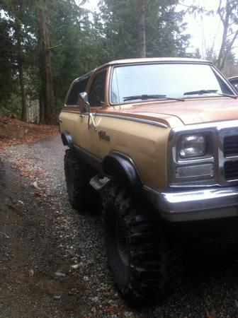 Dodge Ramcharger Cummins Diesel 4x4 8000 For Sale In Gibsons