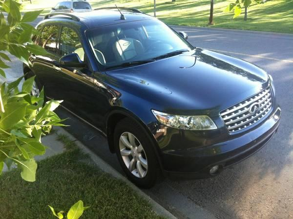 Excellent 2005 Infiniti FX FX 35 Edition,Fully Loaded,Blue *DEAL - $12900
