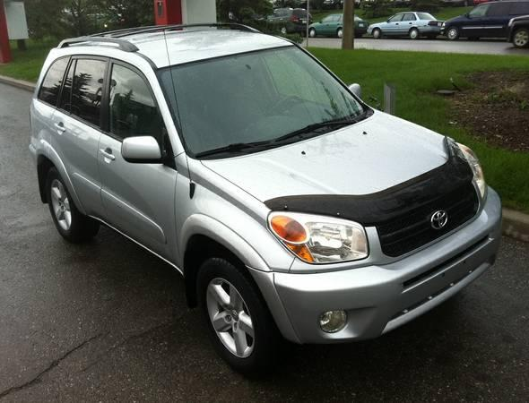 Excellent 2005 Toyta Rav4 Utility 4WD Edition,Silver,5 Sp,REAL DEAL - $9900