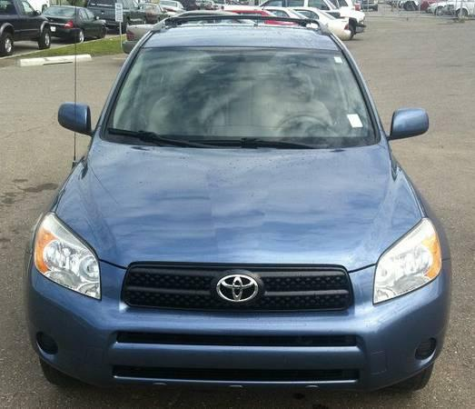 Excellent 2006 Toyota Rav4 Blue Automatic,4 Cylinder,REAL DEAL - $12600