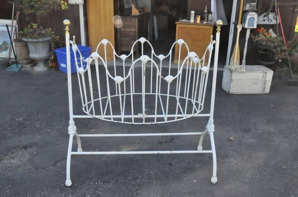 fantastic antique baby rocking cradle - $300