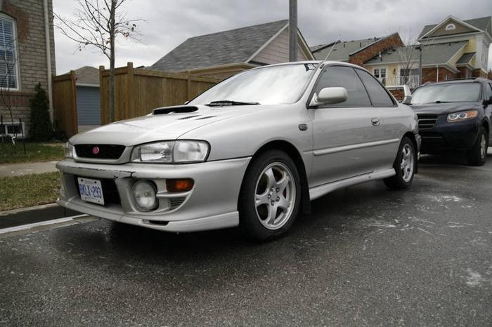 for sale 1999 subaru impreza 2 5rs coupe gc8 beautiful for sale in markham ontario all cars. Black Bedroom Furniture Sets. Home Design Ideas