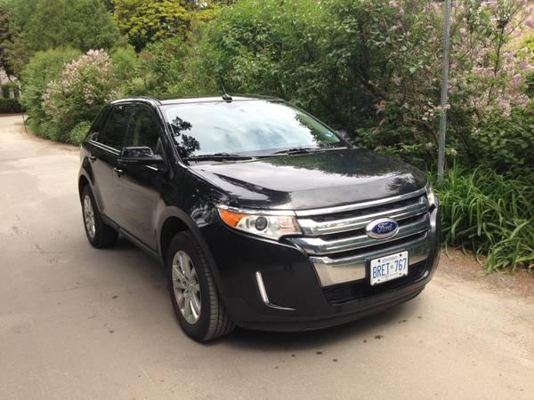 Ford edge 2013 blk blk low price 30000 for sale in for Ford edge motor oil type