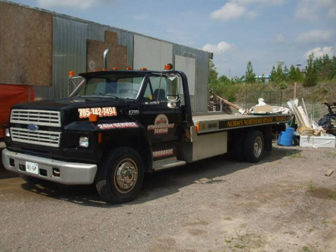 Tow Truck For Sale Canada >> Ford F700 Tow Truck For Sale In Peterborough Ontario All Cars In