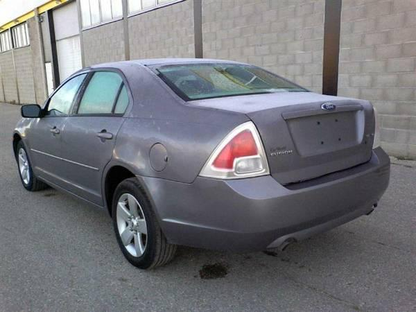 Ford Fusion 4Cyl SEL - Credit auto et ...