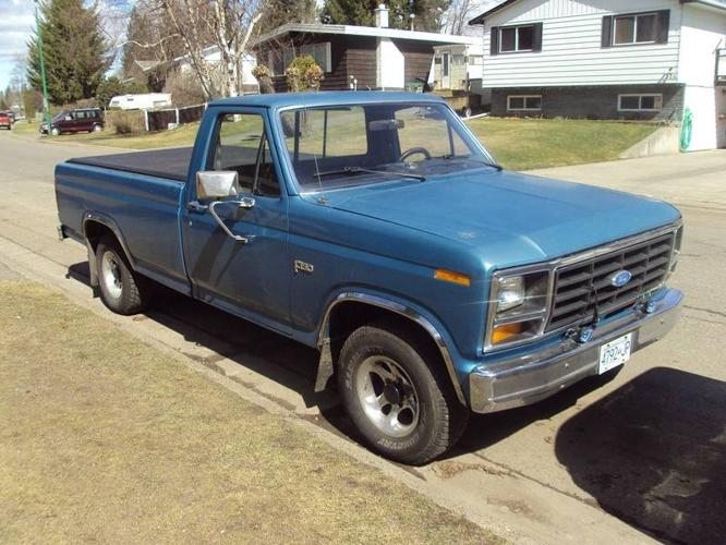 good looking 1982 ford f 150 for sale in prince george british columbia all cars in. Black Bedroom Furniture Sets. Home Design Ideas