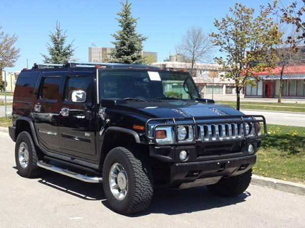 Hummer H2 - $23900