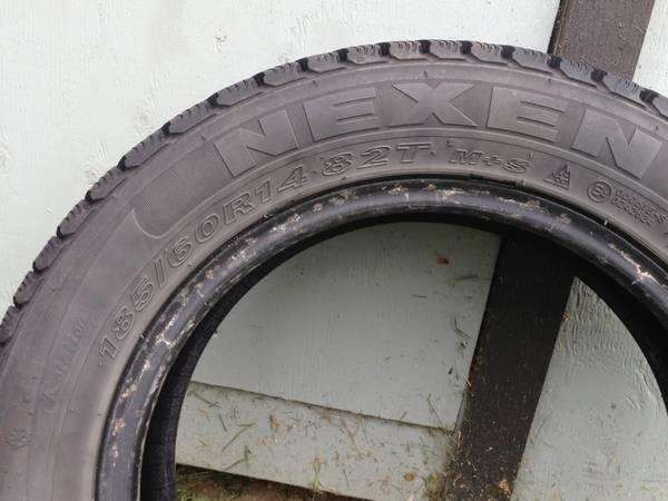 hyundai accent snow tires - $50