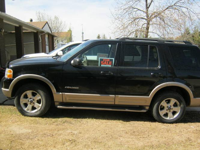 immaculate 2004 ford explorer eddie bauer edition suv for sale in grande prairie alberta all. Black Bedroom Furniture Sets. Home Design Ideas