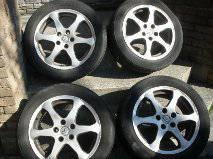Infiniti G35x wheel rims, tires - $600