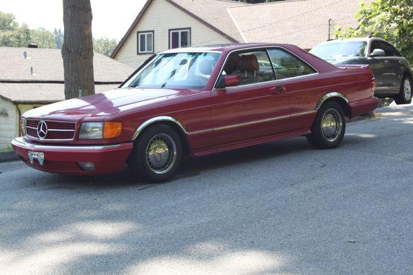 Mercedes benz 500 sec 6500 for sale in port moody for Mercedes benz 6500