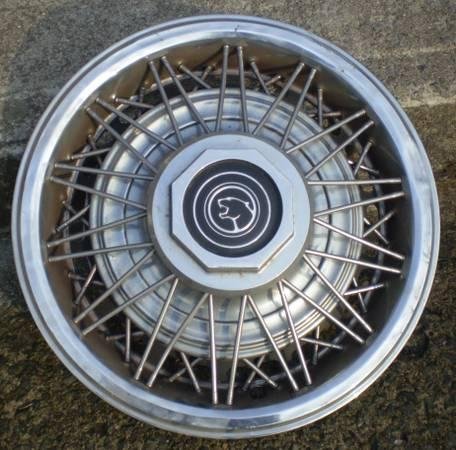Mercury Cougar Wire wheel covers AKA Hubcaps :)alsoGrand Marquis - $35