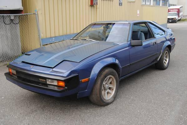 Parting out 1983 Toyota supra six cylinder five speed