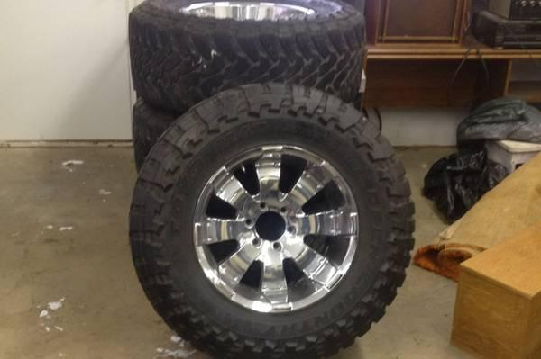 Tires and rims - CAD800