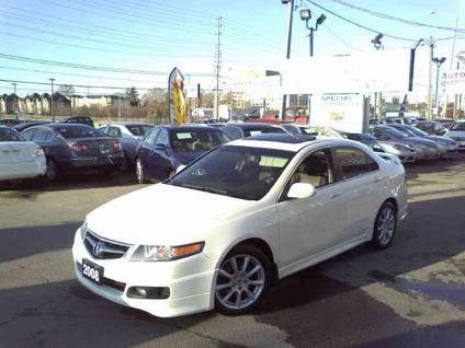 us 18 998 2008 acura tsx pearl white navigation tinted spoiler for sale in mississauga ontario. Black Bedroom Furniture Sets. Home Design Ideas