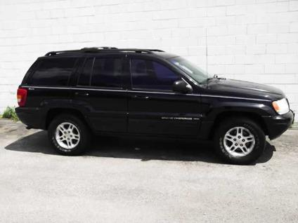 US$4,495 2002 Jeep Grand Cherokee Limited